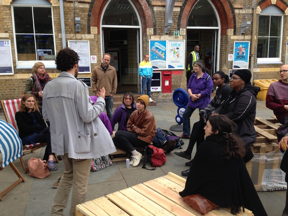 Workshop at Herne Hill, London, 13-14 June 2015